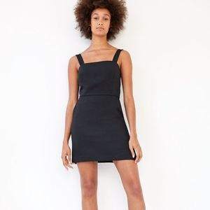 Aritzia Wilfred Ecoulement A-Line Tie Back Dress